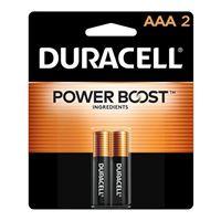 Duracell AAA Alkaline Battery 2 Pack