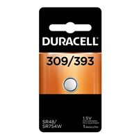 Duracell 309/393 1.5 V Silver Oxide Battery