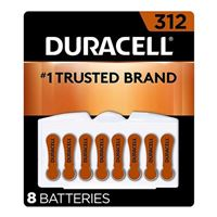 Duracell EasyTab Hearing Aid Battery #312