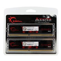 G.Skill Aegis 16GB 2 x 8GB DDR4-2400 CL16 Dual Channel Desktop Memory Kit