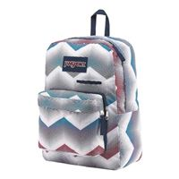 "Jansport DigiBreak Matrix Laptop Backpack Fits Screens up to 15"" - Chevron White"