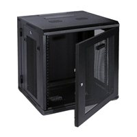 CyberPower Systems 12U Carbon Wall Mount Enclosure  - Black