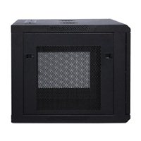 CyberPower Systems 9U Carbon Wall Mount Enclosure - Black
