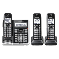 Panasonic Link2Cell Bluetooth Cordless Phone with Answering Machine