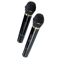 QFX Wireless Dynamic Professional Microphone - Twin Pack