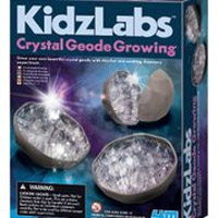 Toysmith KidzLabs Crystal Geode Growing Kit