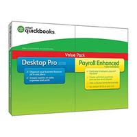 Intuit Quickbooks Desktop w/ Enhanced Payroll - 2018
