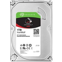 "Seagate IronWolf 1TB 5900RPM SATA III 6Gb/s 3.5"" Internal NAS Hard Drive"