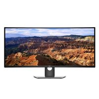"Dell UltraSharp U3818DW 37.5"" WQHD+ 60Hz HDMI DP Curved LED Monitor"