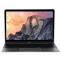 """Apple MacBook 5JY42LL/A 12"""" Laptop Computer Pre-Owned Refurbished - Space Gray"""