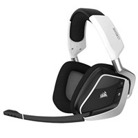 Corsair VOID PRO RGB Wireless Premium Gaming Headset - White