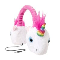 Emerge Retractable Animalz Unicorn Headphones