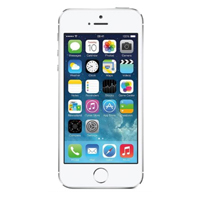 "Apple iPhone 5S Unlocked 4"" Smartphone - Silver (Refurbished)"