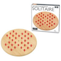 Intex Entertainment Wooden Solitaire