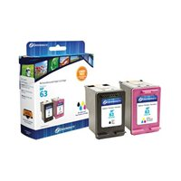 Dataproducts Remanufactured HP 63 Black / Tr-color Combo Pack