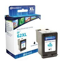 Dataproducts Remanufactured HP 62XL Black Ink Cartridge