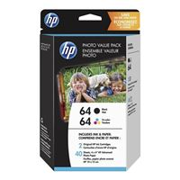 HP 64 Photo Value Pack