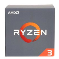 AMD Ryzen 3 1200 3.1GHz Quad Core AM4 Boxed Processor with Wraith Stealth Cooler