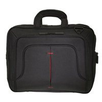 "Eco Style Tech Pro TopLoad Checkpoint Friendly Laptop Briefcase Fits Screens up to 16.1"" - Black"
