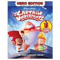 20th Century Fox Captain Underpants Blu-ray