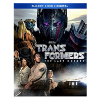 Paramount Transformers The Last Knight Blu-ray