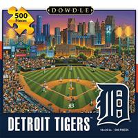 Dowdle Dowdle Detroit Tigers Puzzle 500pc