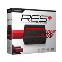 NES Console 8-Bit - Red/Black