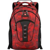 "Swiss Gear Granite Laptop Backpack Fits Screens up to 16"" - Red Camo"