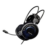 Audio-Technica High-Fidelity Gaming Headphones - Black