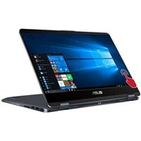 "ASUS VivoBook Flip 14 TP410UA-MH51T 14"" 2-in-1 Laptop Computer - Black"