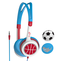 Zagg iFrogz Little Rockerz - Blue (Soccer)