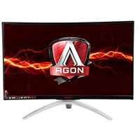 "AOC AGON AG322QCX 31.5"" WQHD 144Hz VGA HDMI DP LED Monitor"