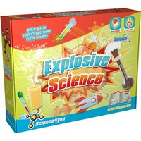 Science4you Science 4 You Explosive Science STEM Educational Science Set
