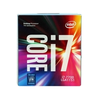 Intel Core i7-7700 Kaby Lake 3.6 GHz LGA 1151 Boxed Processor