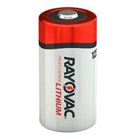Rayovac 123A Lithium Photo Battery 8 Pack