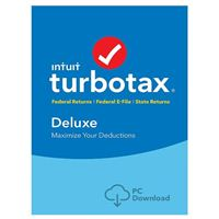 Intuit TurboTax Deluxe State 2017