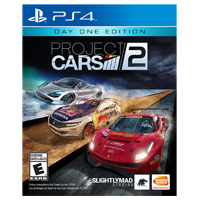 Namco Project Cars 2 - Day 1 Edition (PS4)