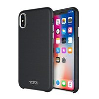 Incipio Technologies Tumi Leather Wrap Case for iPhone X - Black