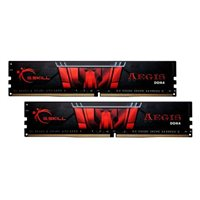 G.Skill Aegis 16GB 2 x 8GB DDR4-2400 PC4-19200 CL17 Dual Channel Desktop Memory Kit