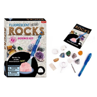 TEDCO Toys Fluorescent Rocks