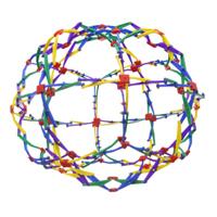 TEDCO Toys Mini Hoberman Sphere