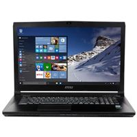 "MSI WE72 7RJ-1032US 17.3"" Mobile Workstation Laptop Computer - Black"