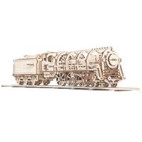 UGEARS UGEARS Locomotive Mechanical 3D Puzzle