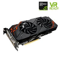 Gigabyte GeForce GTX 1070 WindForce Overclocked 8G Dual-Fan 8GB GDDR5 PCIe Video Card