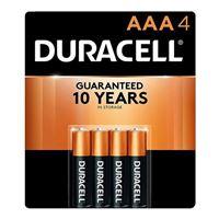 Duracell Duracell Coppertop Alkaline AAA Batteries - 4pk