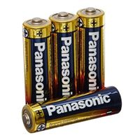 Panasonic Panasonic Alkaline Plus Battery AA 4pk
