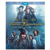 Disney Pirates Of The Caribbean Dead Men Tell No Tales Blu-ray