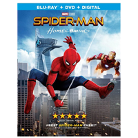 Columbia Tristar Spider-Man Homecoming Blu-ray