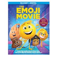 Columbia Tristar Emoji Movie Blu-ray