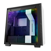 NZXT H700i ATX Mid-Tower Computer Case - White/Black